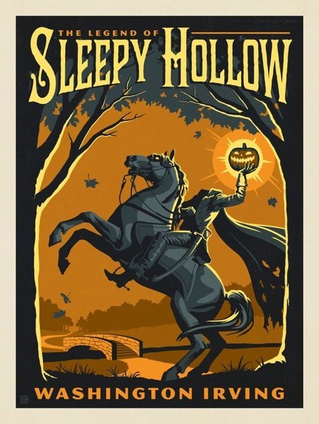 Halloween 2020 – 48 in a series – The Legend of Sleepy Hollow via Anderson Design Group