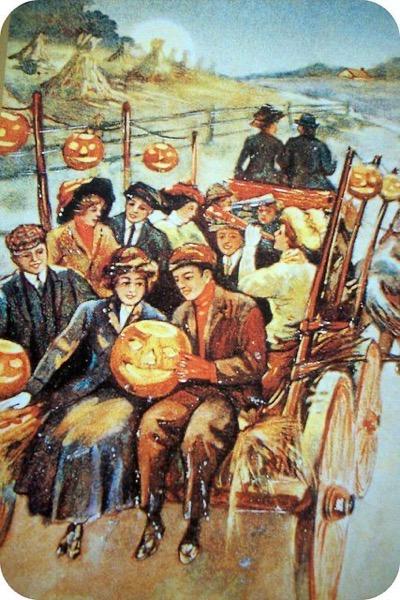 Halloween 2020 – 42 in a series – Halloween Hayride