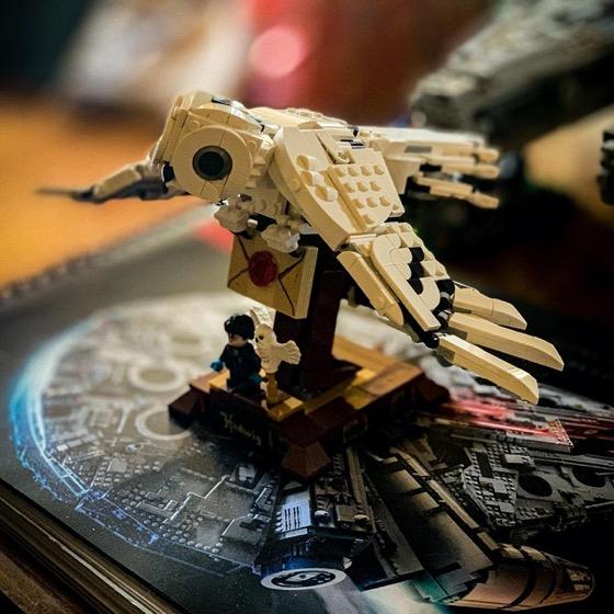 Hedwig in Lego via Instagram