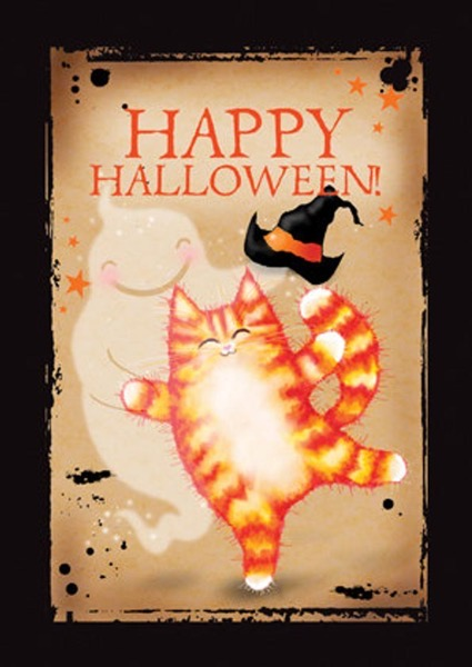 Halloween 2020 – 28 in a series – Happy Halloween by Mad Old Cat Lady