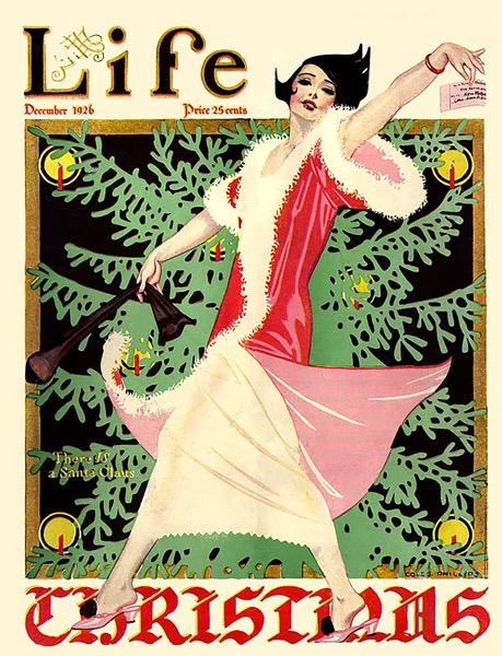 Order Now! Vintage Life Magazine Cover (1926) Christmas Cards from Douglas E. Welch Design and Photography [For Sale]