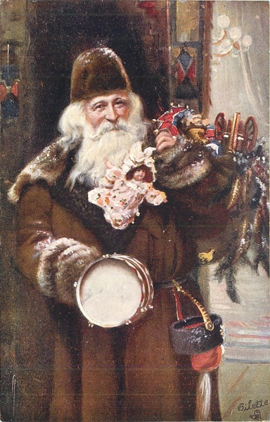"""Order Now! """"Loving Christmas Greetings"""" Vintage Santa Christmas Cards from Douglas E. Welch Design and Photography [For Sale]"""