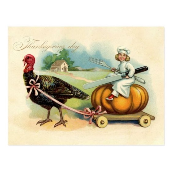 Thanksgiving 2020 – 4 in a series – Turkey, Cart, and Pumpkin