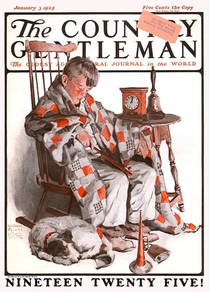 New Year's 2021 – 6 in a series – Vintage Country Gentleman Cover