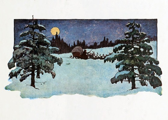 "Order Now! ""Merry Christmas To All and To All A Good Night"" Vintage ""Twas The Night Before Christmas"" Illustration Christmas Cards from Douglas E. Welch Design and Photography [For Sale]"