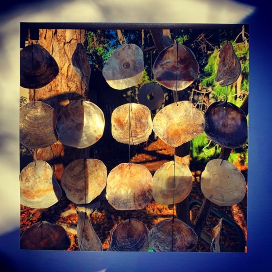 Wind Chime – One Square Foot – 11 in a series via Instagram