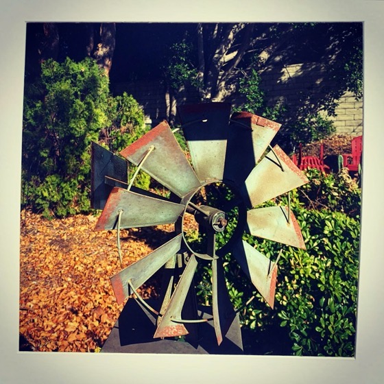 Windmill – One Square Foot – 14 in a series via Instagram