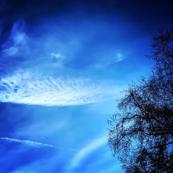 Winter Sky via Instagram