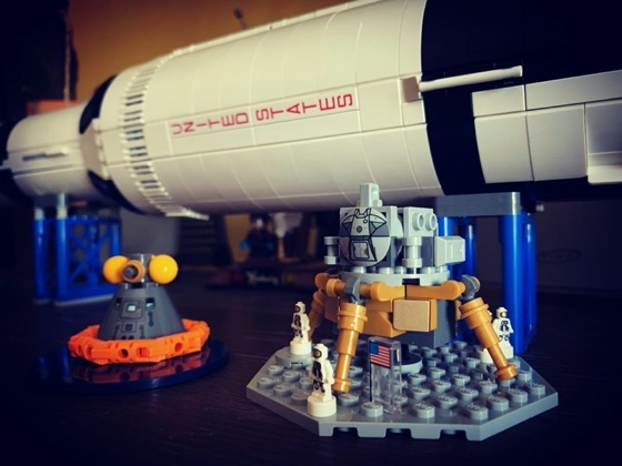 Apollo in Lego via Instagram