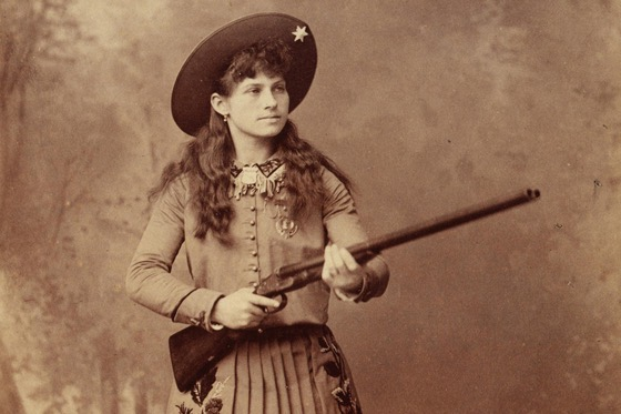 How Annie Oakley Defined the Cinema Cowgirl via JSTOR Daily