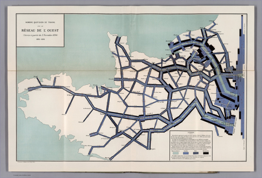 Data Visualizations & Vintage Maps via Google Maps Mania