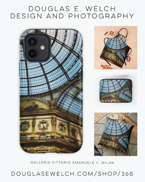 New Design: Travel To Milan with these Galleria Vittorio Emanuele II Products [For Sale]