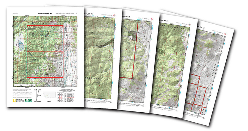 Nat Geo Launched a Free Website for Printing Detailed Topographical Maps via PetaPixel