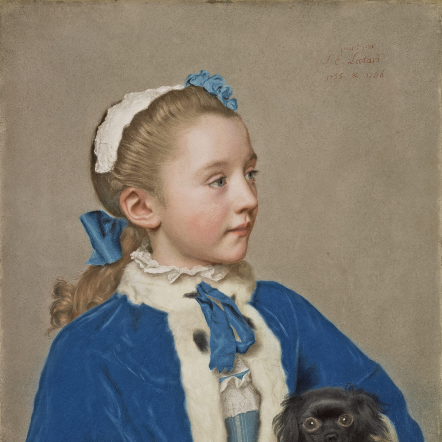 From The Collection Of… 1 in a series – Portrait of Maria Frederike van Reede-Athlone at Seven Years of Age via The Getty