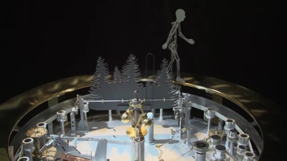 The Incredible Mechanical Artistry Of François Junod via Hackaday [Shared]