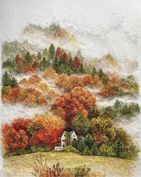 Embroidered Forests via Kottke [Shared]