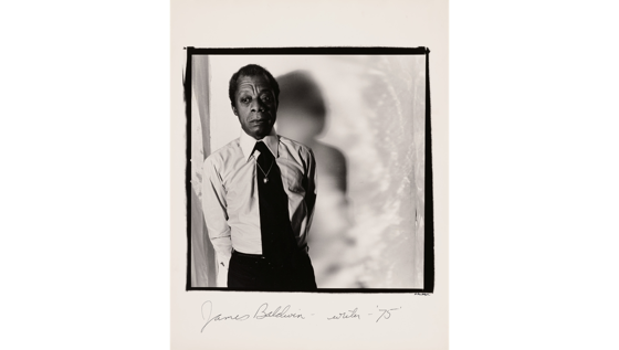 From The Collection Of… 4 in a series – James Baldwin, Photograph via The J. Paul Getty Museum