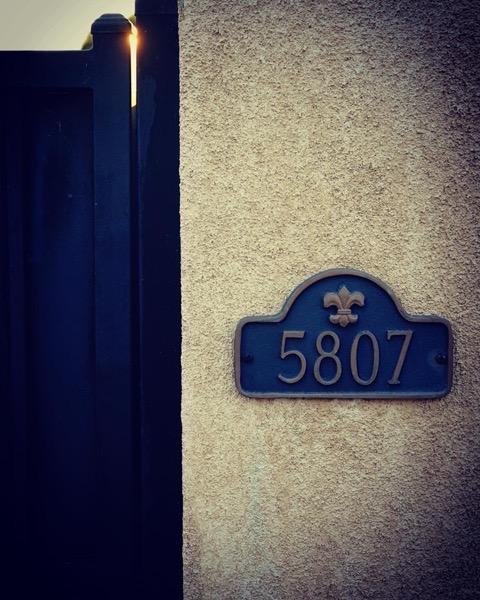 5807 – 4 in a series – Numbers via Instagram