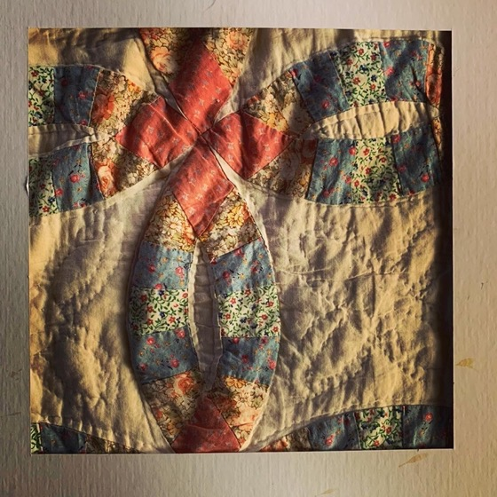 Quilt – One Square Foot – 42 in a series via Instagram