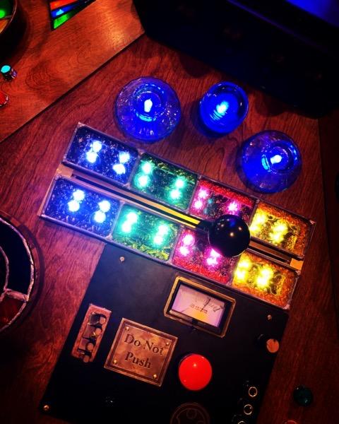 TARDIS Console Display via Instagram